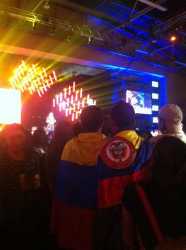 Felices por el #ClubMediaFestColombia ansiosos de ver a el @Rubiu5